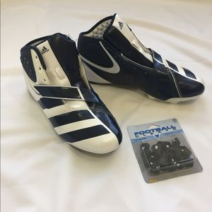 brand new ae838 22d2e adidas Shoes - Adidas Malice D Football Cleats Detachable Cleats